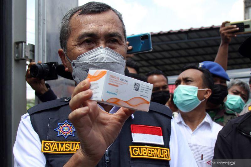 Untuk percepatan, Riau dapat kiriman 40 ribu vaksin lagi