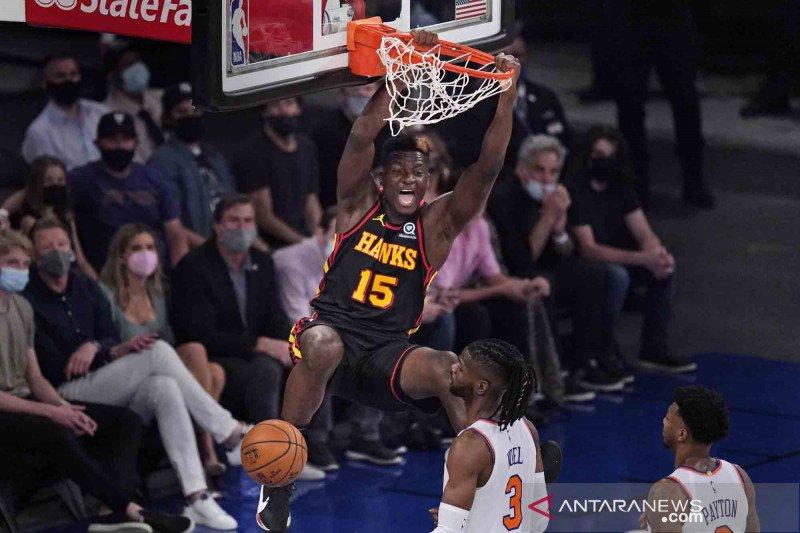 NBA Playoffs: Hawks memimpin 1-0 usai kalahkan Knicks 107-105
