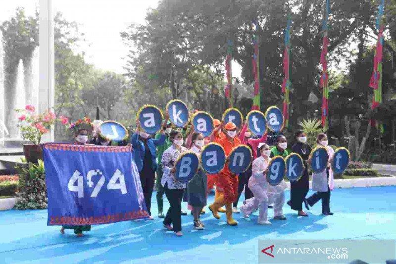 Tari Jakarta Bangkit jadi pembuka Pencanangan HUT ke-494 Ibu Kota