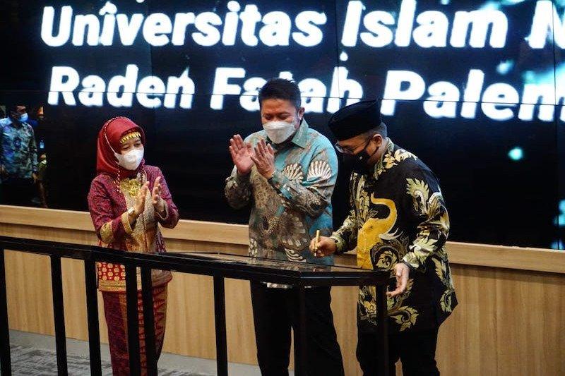 Pemprov Sumsel integrasikan Kampus UIN Raden Fatah dan Islamic Center