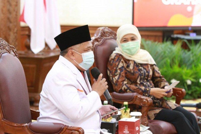 Gubernur Khofifah siap berkolaborasi dengan PKS membangun Jatim