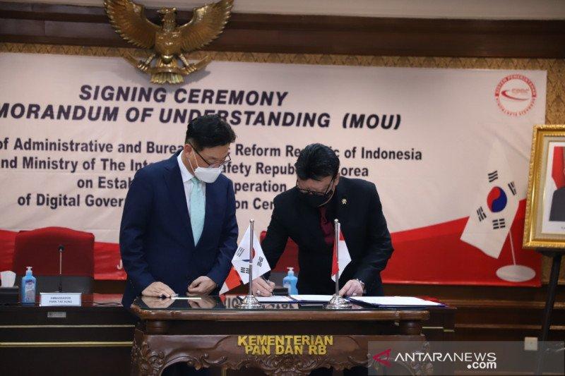 Indonesia-Korea Selatan jalin kerja sama percepatan SPBE