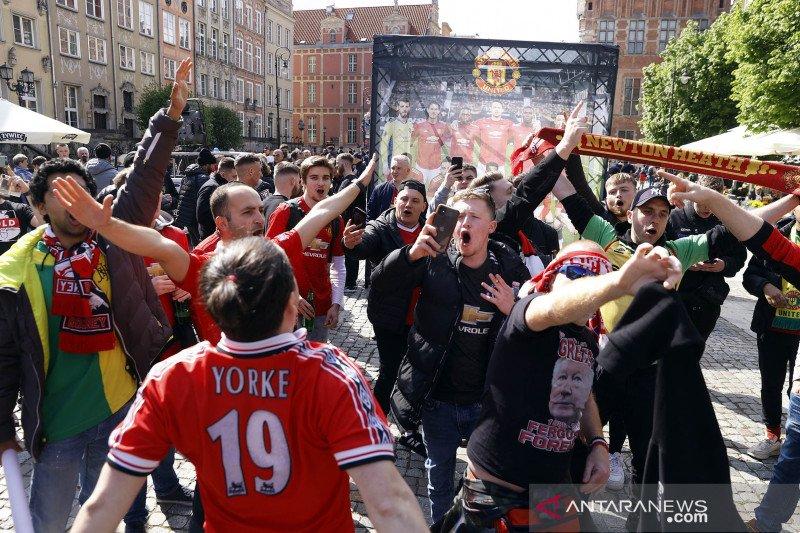 Semarak penggemar Jelang final Liga Europa