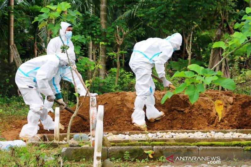 Kepala Polda Aceh: 556 warga Aceh meninggal dunia akibat COVID-19