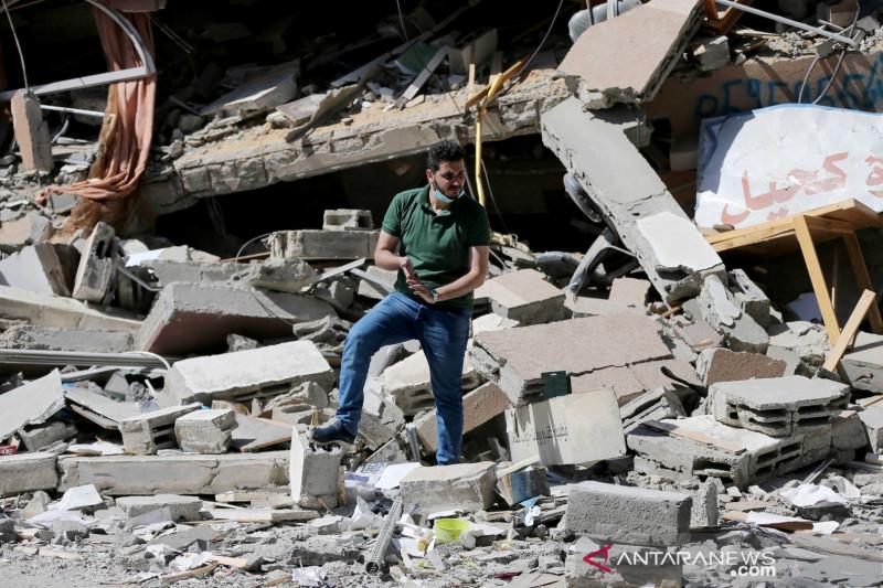 Korban meninggal akibat serangan Israel di Gaza bertambah jadi 254