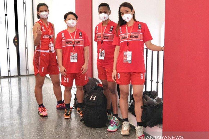 Timnas basket 3x3 putri adaptasi dengan suhu dingin di Austria