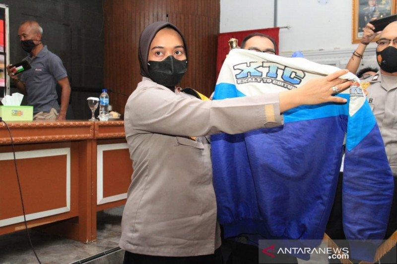 Polres Sukabumi Kota bubarkan empat geng motor