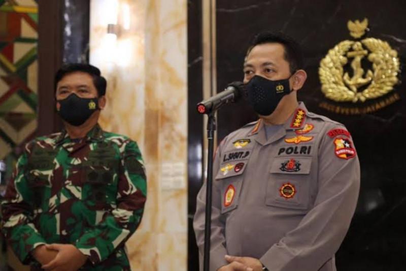 Arahan Kapolri dan Panglima untuk prajurit TNI/Polri bertugas di Papua