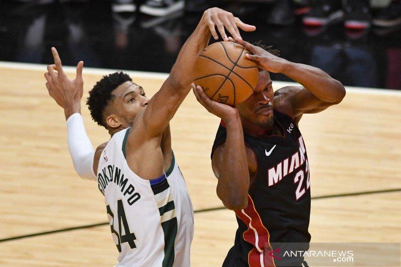 Playoff NBA: Bucks kembali menang atas Miami Heat