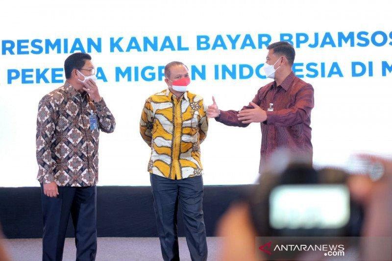 Pekerja Indonesia di Malaysia dapat kemudahan bayar iuran BPJAMSOSTEK