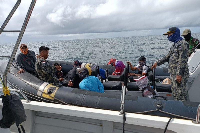 KKP amankan pelaku olahraga memancing ilegal di perairan Sebatik