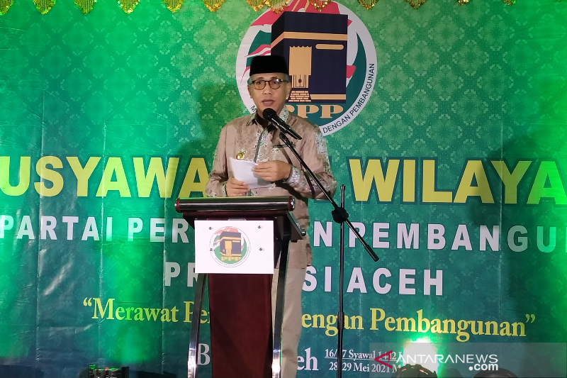 Gubernur minta PPP bantu sukseskan program unggulan Pemerintah Aceh