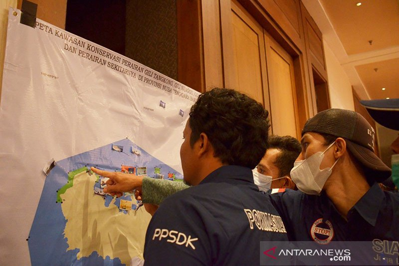 KKP bina 250 anggota Pokwasmas perkuat pengawasan konservasi NTB