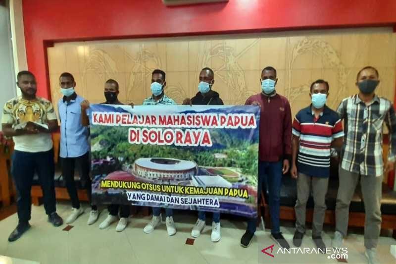 Mahasiswa Papua di Solo menyatakan solid dukung Pemerintah