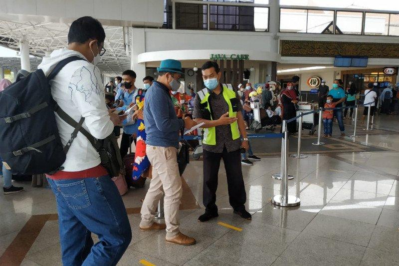 Penumpang Bandara Juanda meningkat pascapeniadaan mudik lebaran
