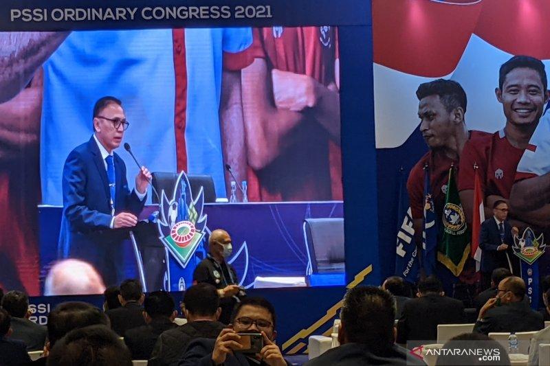 Ketum PSSI berikan pujian khusus kepada suporter saat kongres