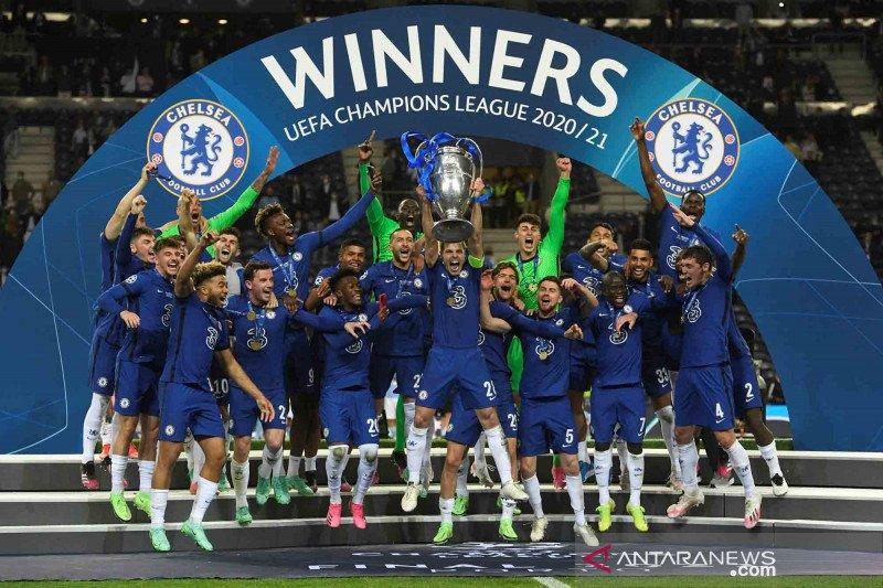 Gol tunggal Havertz bawa Chelsea jadi juara Liga Champions