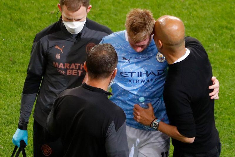 Kevin De Bruyne patah tulang hidung dan rongga mata