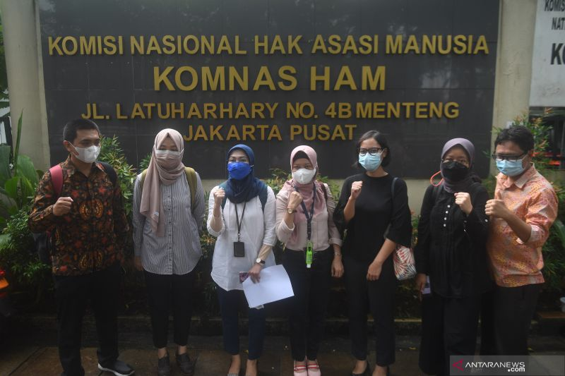 AJI sarankan Presiden Jokowi selesaikan polemik TWK pegawai KPK