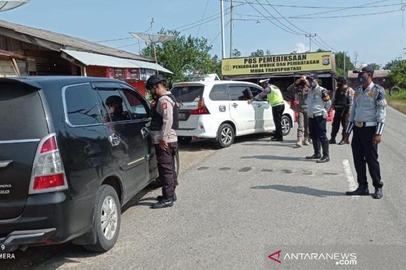Riau perpanjang penerapan pos penyekatan sampai Juni 2021