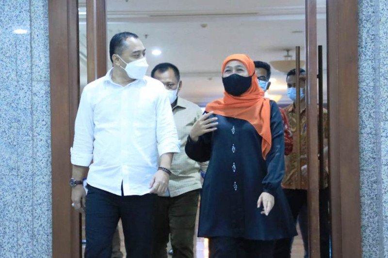 Gubernur Khofifah doakan Kota Surabaya tetap jadi kebanggaan Jatim