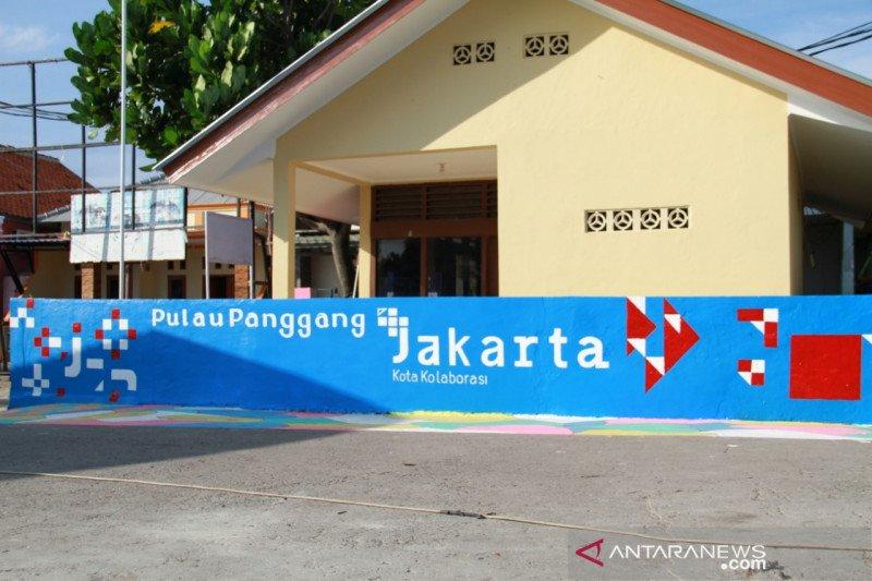 Pulau Panggang pampang mural