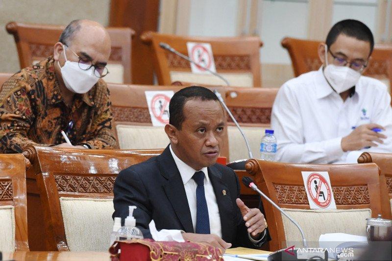 Bahlil: Target investasi 2022 naik, tapi anggarannya turun