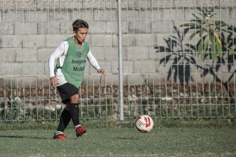 Gelandang Bali United: Terpenting Liga 1 jalan sesuai prokes