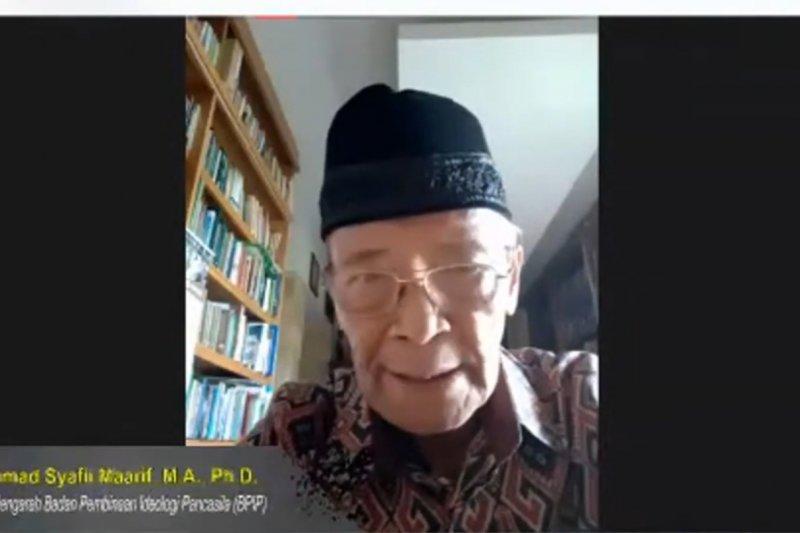 Buya Syafii Maarif: Kebhinnekaan jadi kekuatan pemersatu bangsa