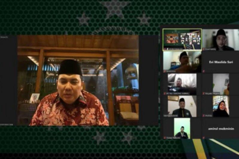 Sekjen PBNU dan Anwar Ibrahim hadiri acara virtual di Kuala Lumpur