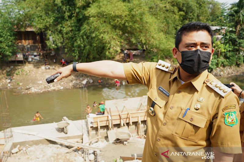 Wali Kota Bobby siap bebaskan lahan di DAS Sungai Bedera dan Babura