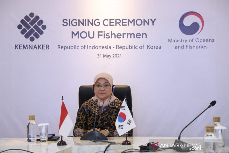 Indonesia-Korsel tingkatkan perlindungan awak kapal perikanan