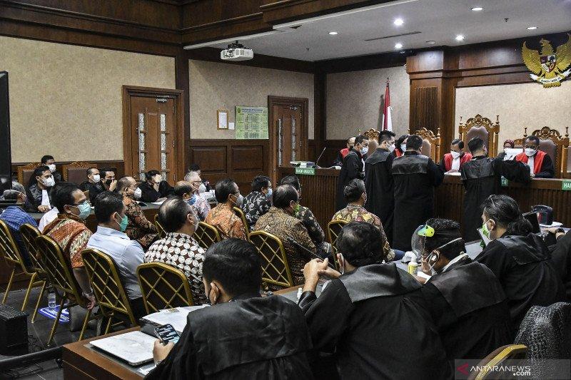 Sidang dakwaan tersangka korporasi kasus Jiwasraya