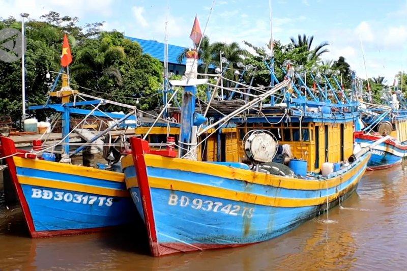 PSDKP Tangkap 6 kapal ikan asing di laut Natuna Utara