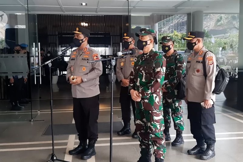 Arahan Panglima TNI dan Kapolri untuk prajurit di Papua