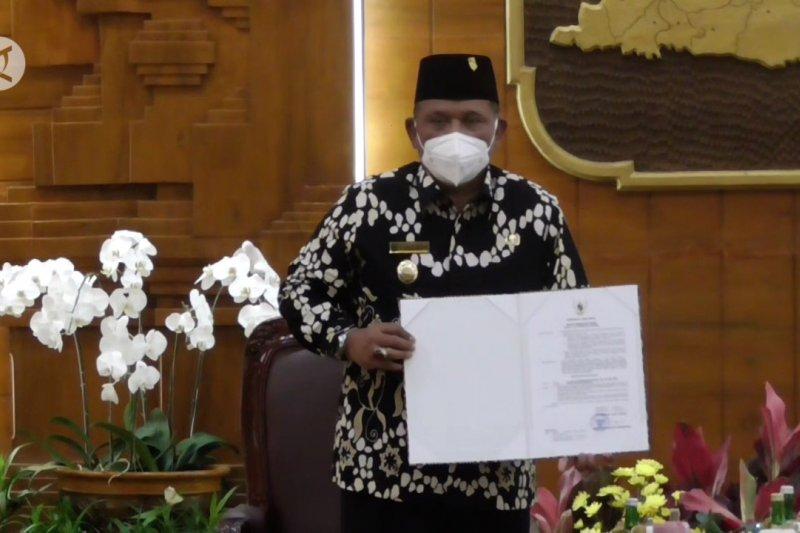 Marhaen Djumadi jabat Plt Bupati Nganjuk gantikan Novi