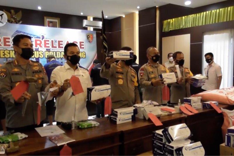 Polda Jateng ungkap penjualan alat uji antigen tanpa izin