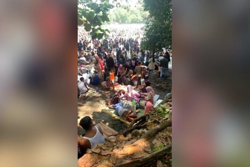 Membludak, Ridwan Kamil tutup wisata Pangandaran