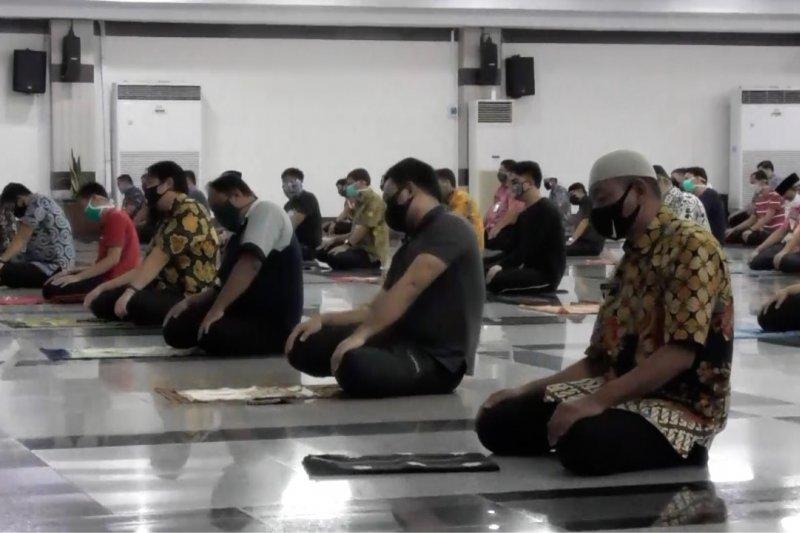 MUI Jateng imbau shalat Idul Fitri di masjid dengan prokes ketat
