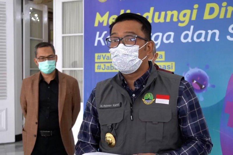 Ridwan Kamil minta masyarakat tidak saling mengunjungi saat Lebaran