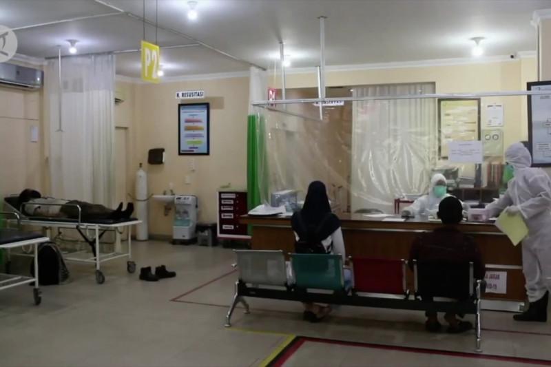 COVID-19 melonjak, 6 provinsi alami keterisian rumah sakit di atas 50%