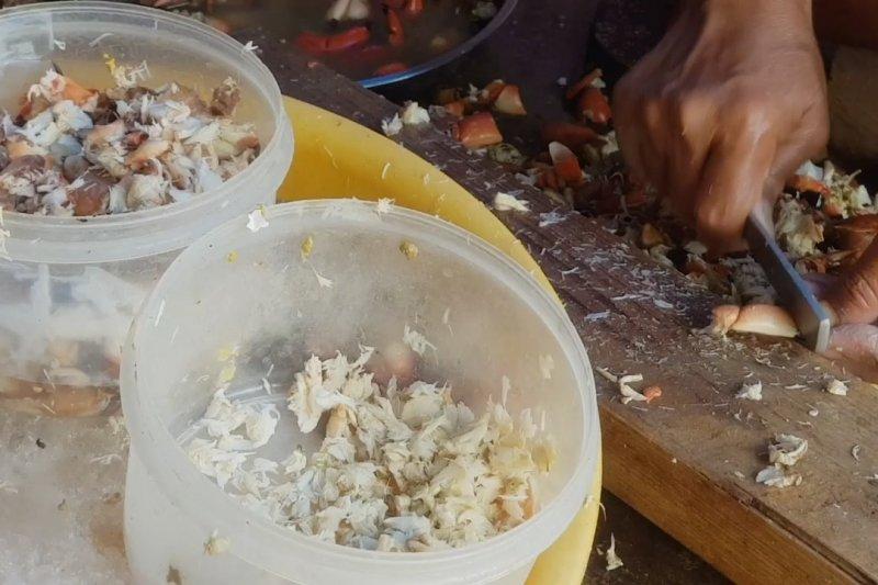 Daging rajungan Desa Waru Duwur dikirim ke Amerika Serikat