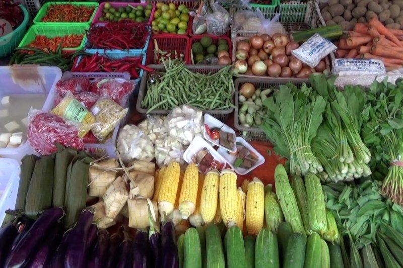Harga pangan di Banjarmasin relatif stabil pasca lebaran
