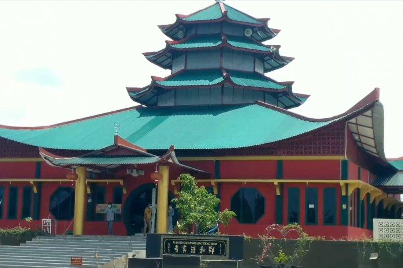 Menarik, Masjid Muhammad Cheng Hoo Jambidiresmikan saat Imlek