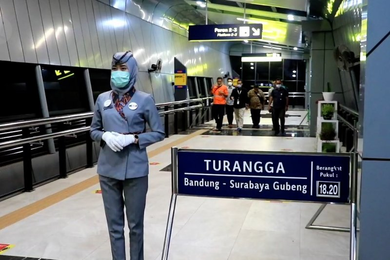 PT KAI Daop 2 Bandung catat penurunan penumpang 85%