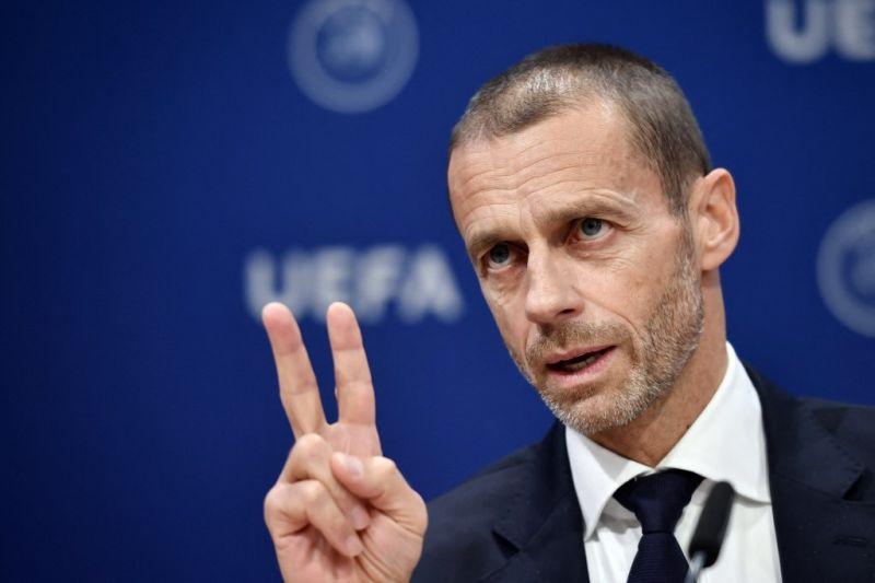 Ceferin sewot tuding Juventus, Madrid dan Barca ancam UEFA