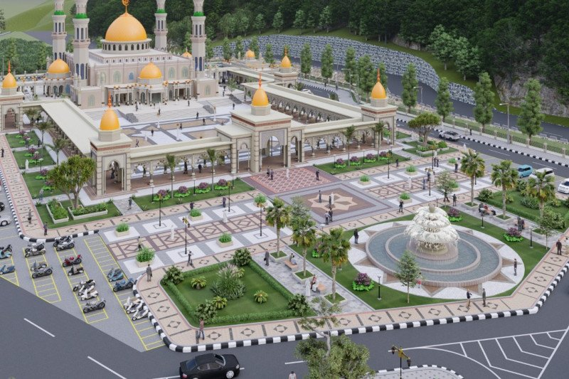 Bupati: Masjid Agung Aceh Jaya akan berfungsi 2022