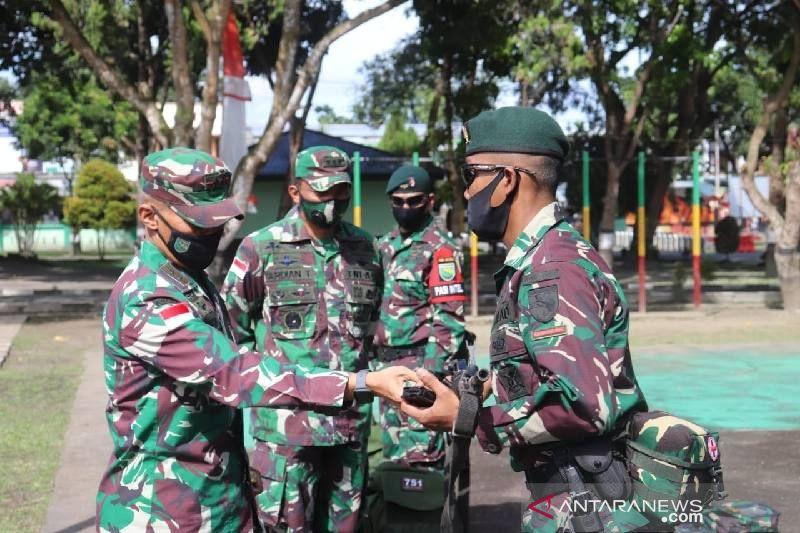 Pangdam Cenderawasih periksa kesiapan Pamrahwan Yonif RK 751