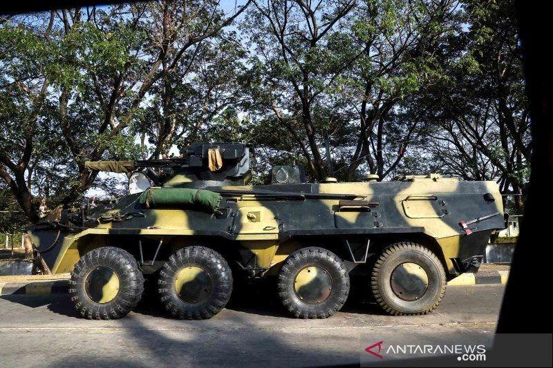 Rusia, Myanmar kerja sama dalam pasokan peralatan militer