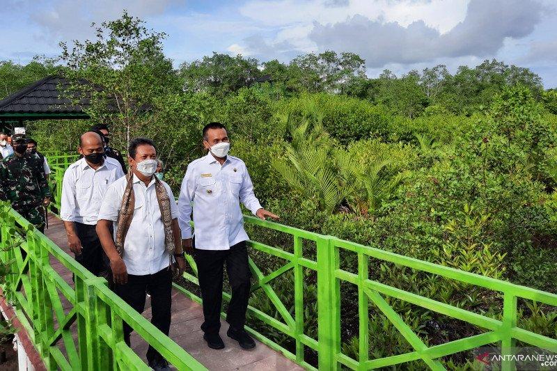 Menteri KP resmikan trek edukasi mangrove baru di Pariaman